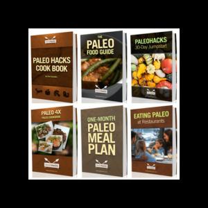 Paleohacks Cookbooks + Primal Sleep, 4 Products